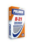 купить Polimin П-21 Тепло-фасад ПРО армирующий антивандальный клей для высотного строительства