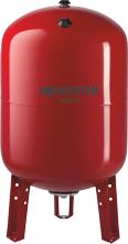 Расширительный бак Aquasystem VRV 200 (200л вертикальный , фланец 260) цена
