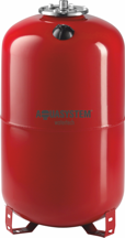 Расширительный бак Aquasystem VRV 80 (80л вертикальный , фланец 145)