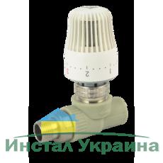 """FADO PPR Кран радиоторный с термоголовкой прямой FADO 20x1/2"""" (PKT01)"""