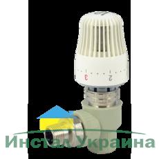 """FADO PPR Кран радиаторный с термоголовкой угловой FADO 20x1/2"""" (PKT02)"""