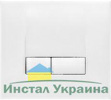 Кнопка Cersanit Link метал белая