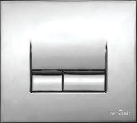 Кнопка Cersanit Link хром матовая