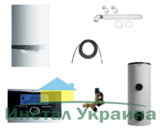 Пакет Vaillant ecoTEC plus VU OE 466/4+VIH R500+VRC 470 (0020200101)