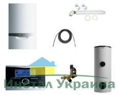 Пакет Vaillant ecoTEC plus VU OE 466/4+VIH R400+VRC 470 (0020200100)