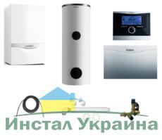 Пакет Vaillant ecoTEC plus VU INT 386/5+VIH R300+VRC 470 +VR 61 (0020200152)