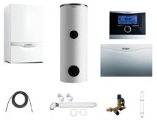 Пакет Vaillant ecoTEC plus VU OE 466+VIH R300 + VRC470 + VR 61 +Патрон для смягчения воды подпитки (0020200169)