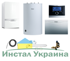 Пакет Vaillant ecoTEC plus VU OE 466+VIH R150 + VRC470 + VR 61 (0020200155)