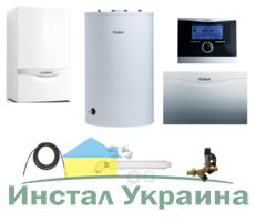 Пакет Vaillant ecoTEC plus VU INT 386/5+VIH R200+VRC 470 +VR 61 (0020200151)