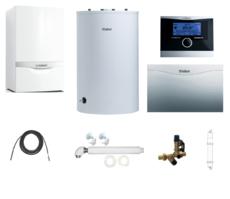 Пакет Vaillant ecoTEC plus VU OE 466+VIH R120 + VRC470 + VR 61 +Патрон для смягчения воды подпитки (0020200166)