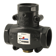 "ESBE VTC511 термический клапан Rp 11/4"" DN32 kvs 14 T=55 C (51020700)"