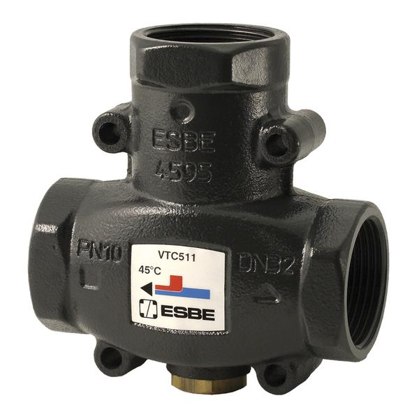 "ESBE VTC511 термический клапан Rp 11/4"" DN32 kvs 14 T=50 C (51020600)"