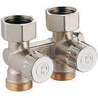 купить Проходной клапан Giacomini для одно- двухтрубных систем ВН 3/4`FX3/4`E