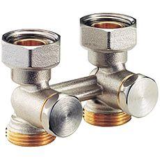 Проходной клапан Giacomini для 2-трубных систем ВН 3/4`FX3/4`E