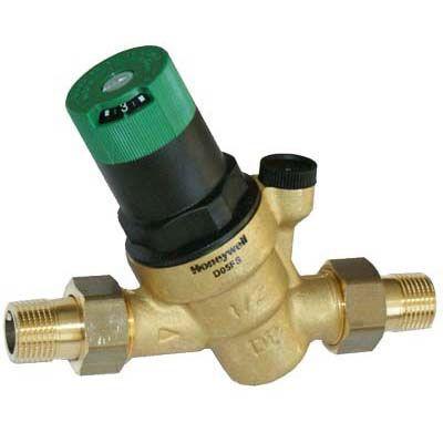Honeywell Регулятор давления DN20, PN25, Kvs=2.6м3/ч, Tmax-70°C, Диапазон регулирования 1.5-6.0 бар