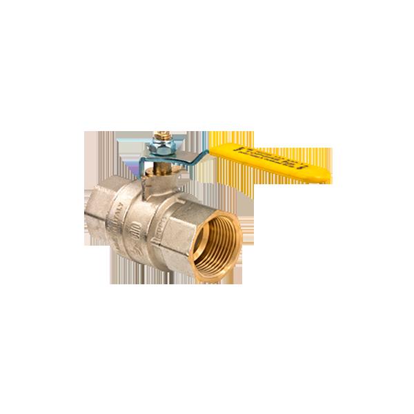 """79500110 Кран газовый шаровый MISSUORI GAS 1 1/4"""" ВВ стальная ручка BONOMI"""