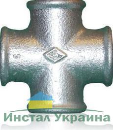 """SANHA 180 Крестовина оцинкованная 2"""""""