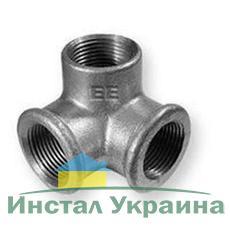 """SANHA 221 Тройник угловой оцинкованный 1"""""""