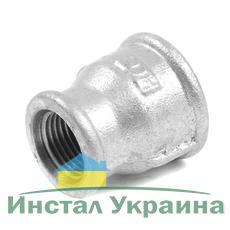"SANHA 240 Переходник оцинкованный 2 1/2""х6/4"" ВВ"