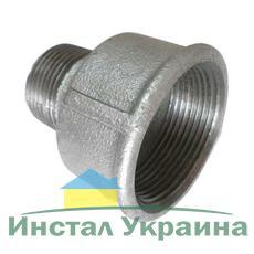 "SANHA 246 Переходник оцинкованный 6/4""x1"" ВН"