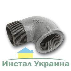 """SANHA 92 Колено оцинкованное 3"""" ВН"""