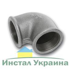"""SANHA 90 Колено оцинкованное 3/8"""" ВВ"""
