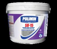 Polimin SB-15 Силикон-Декор Барашек прозрачная декоративная штукатурка зерно 1,5 мм.