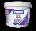 Polimin SF-1 Силикон-Декор (ведро 14 кг/10л) белая силиконовая краска