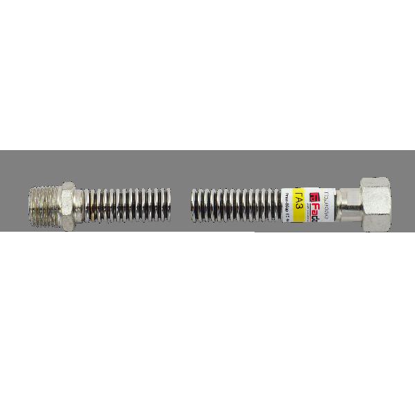 FADO INOX GAS Нержавеющий Шланг Fado Газ НВ 1/2'' 40см (SGN4)