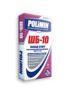 купить Polimin ШБ-10 Фасад-Старт белая армированная цементная шпаклевка