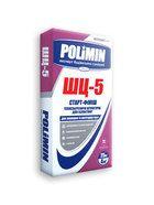купить Polimin ШЦ-5 Старт-Финиш теплоизолирующая цементно-песчаная штукатурка для газобетона