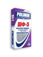 купить Polimin ШФ-5 Фасад-Декор Камешковая белая фактурная штукатурка зерно 1,8-2 мм.