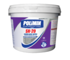 купить Polimin SK-20 Силикон-Декор Барашек прозрачная декоративная штукатурка зерно 2 мм.