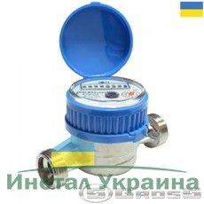Счётчик водяной GROSS ETR-UA 15/80 без сгонов (для холодной воды)