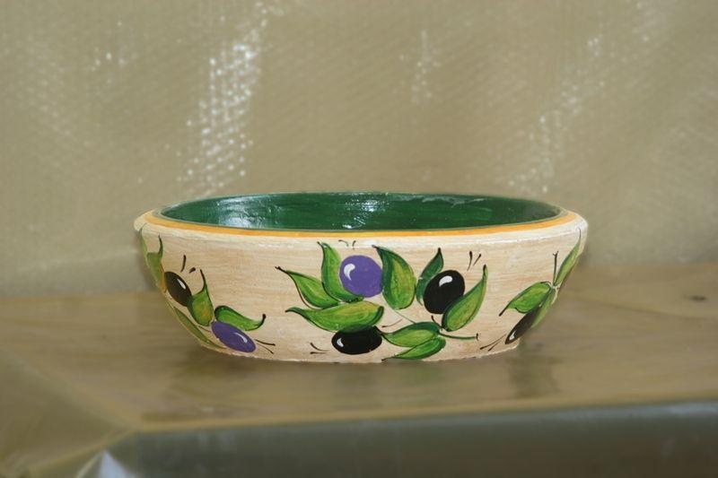 Бетонная ваза Селена (серый)