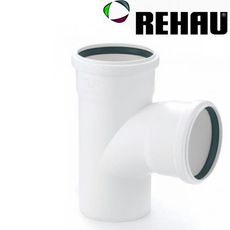 Rehau для внутр. канализации Тройник RAUPIANO PLUS 160/125 45°
