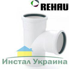 Rehau для внутр. канализации Тройник RAUPIANO PLUS 110/ 90 45°