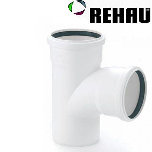 Rehau для внутр. канализации Тройник RAUPIANO PLUS 110/110 87°