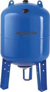 Гидроаккумулятор Aquasystem VAV 100 (100л вертикальный, фланец 145)