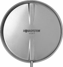 Расширительный бак Aquasystem VCP 8 (8л плоский,круглый)