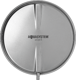 Расширительный бак Aquasystem VCP 10 (10л плоский,круглый) цена