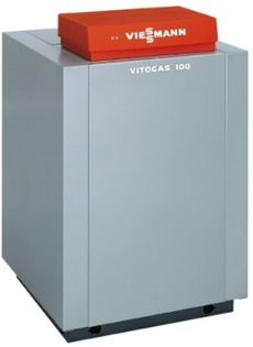 Газовый котел Отопительная установка GS1D971 Viessmann Vitogas 100-F 48 кВт + Vitotronic 100 + Vitocell 100-V-200 CVAA