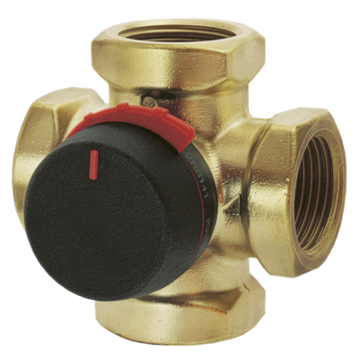 """ESBE VRG141 клапан 4-ходовой Rp 1/2"""" DN15 kvs 2,5 (11640100) цены"""