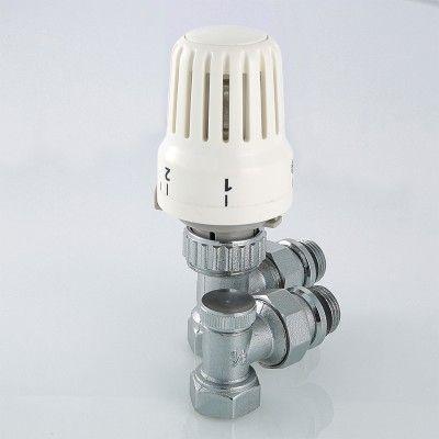 """VT.045.N.04 Комплект термостатический угловой 1/2"""" Valtec цены"""