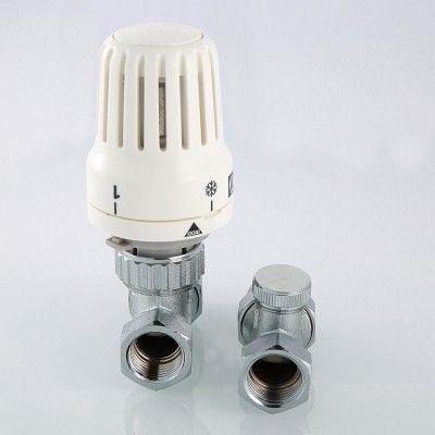"""VT.046 N.04 Комплект термостатический прямой 1/2"""" Valtec цены"""