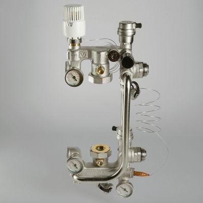 Смесительный узел для теплого пола COMBI 02 (размер насоса 180 мм)