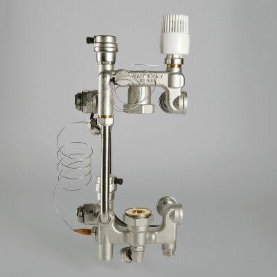 Смесительный узел для теплого пола COMBI 02 (размер насоса 180 мм) цена