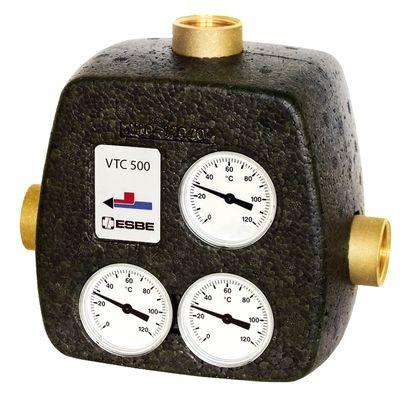 "ESBE VTC531 термический клапан Rp 11/2"" DN40 kvs 8 T=75 C (51026900) цены"