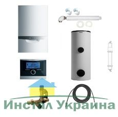 Пакет Vaillant ecoTEC plus VU OE 656/4+VIH R300+VRC470+Патрон для смягчения воды подпитки (0020200117)