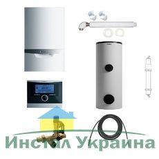 Пакет Vaillant ecoTEC plus VU OE 656/4+VIH R400+VRC470+Патрон для смягчения воды подпитки (0020200118)